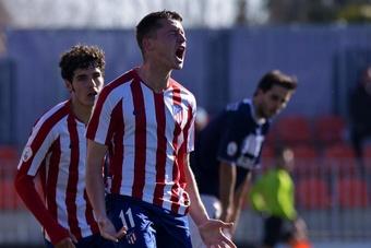 El Leganés, muy descontento con Borja Garcés. Twitter/AtletiAcademia