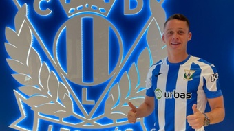 Borja Garcés cometió indisciplina con el Leganés. CDLeganés
