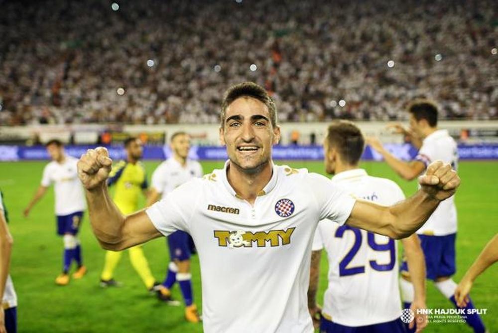 Borja López, a punto de llegar al Sporting. HajdukSplit