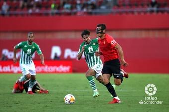 Brian Oliván marcó el primer gol del partido. LaLiga