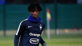 Camavinga, called up by France U21. AFP