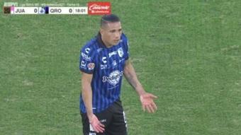 Juárez y Querétaro empataron a cero. Captura/ESPN