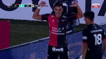 Colón conquista o primeiro título da sua história na elite: a Copa da Liga Argentina. Captura/ESPN