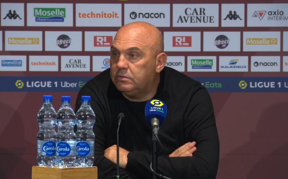 Toque de atención de Antonetti a Mbappé. Captura/L'Équipe
