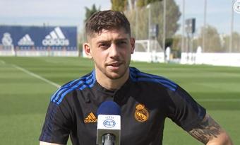 Fede Valverde, listo para el 'Clásico'. Captura/RealMadridTV