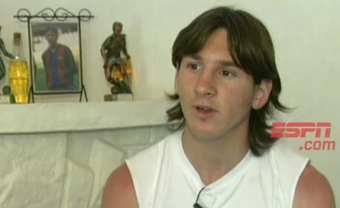 En 2004, Laporta avait déjà pris conscience du génie argentin. ESPN