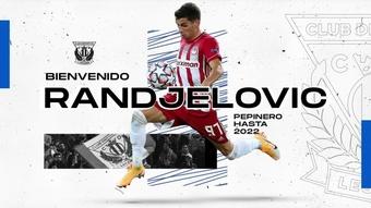 El Leganés consigue la cesión de Randjelovic. CDLeganes
