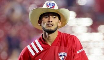 Ricardo Pepi, elegido jugador de la semana en la MLS. Twitter/MLS