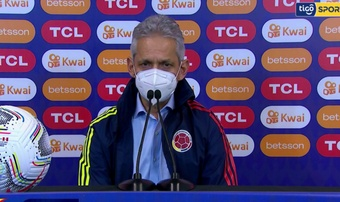 Rueda elogió a Luis Díaz. Captura/TigoSports