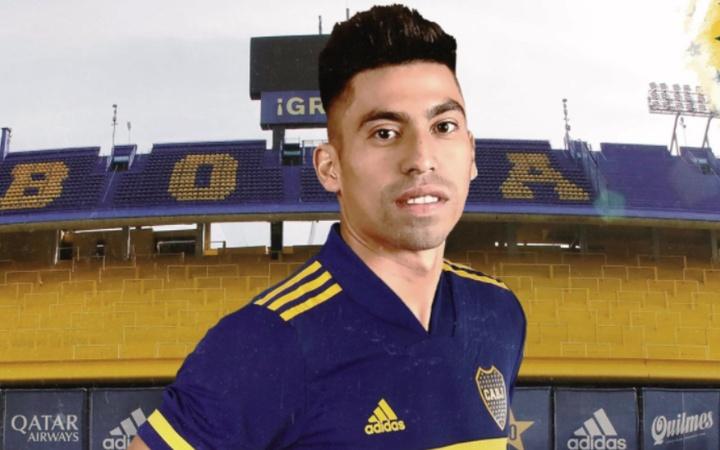 Juan Ramírez ya es de Boca Juniors. Twiter/BocaJrsOficial