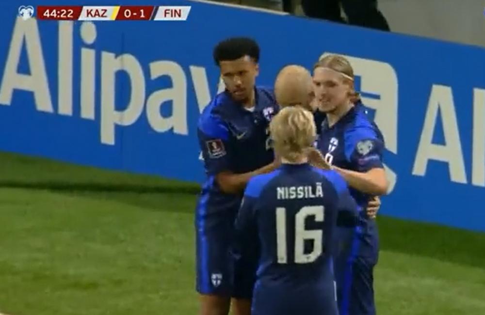 Finlandia vence y convence. Captura/Sport2