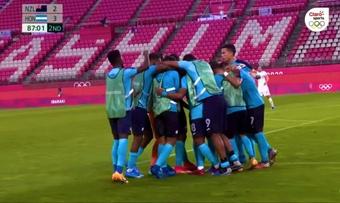 Honduras se llevó la victoria por 2-3. Captura/ClaroSports