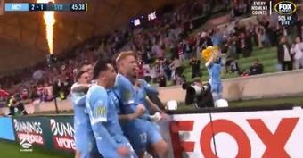 Melbourne City est champion d'Australie. Capture/FOXSPORTS