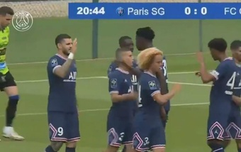 El PSG no pudo pasar del empate ante el Chambly. Twitter/ParisSaint-Germain