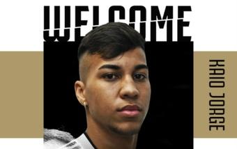 Dos semanas después, la Juve confirmó a Kaio Jorge. JuventusFC