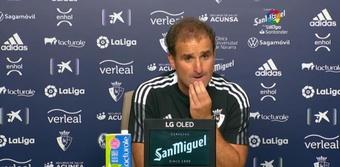 Vicente Moreno y Arrasate analizaron el empate entre Osasuna y Espanyol. LaLiga