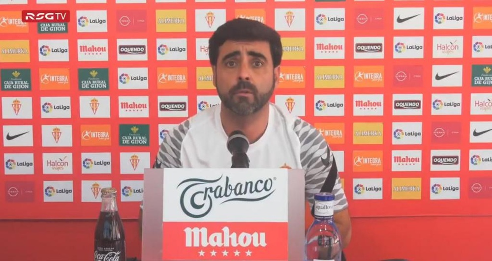 David Gallego no siente la presión por ir líder. Twitter/RealSporting