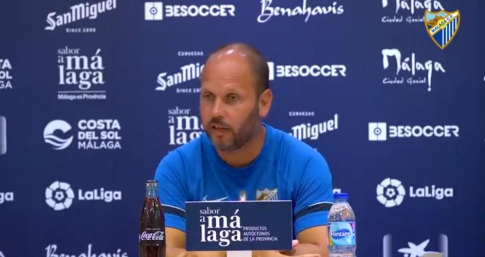 José Alberto apuntó que la Ponferradina ya no es una revelación. Twitter/MalagaCF