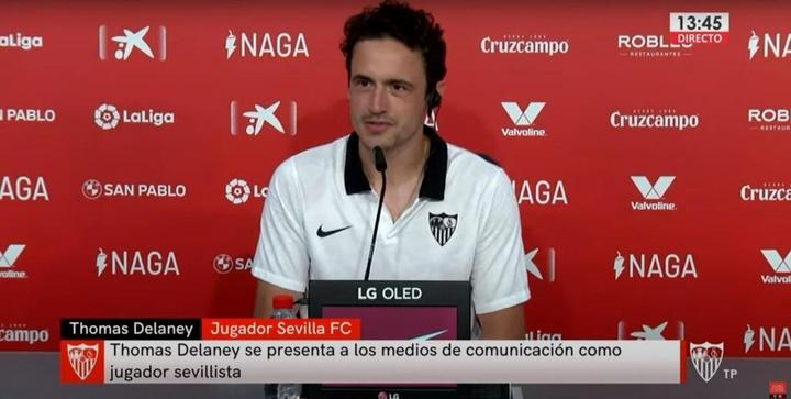 El danés espera debutar este fin de semana con el Sevilla. SevillaFC