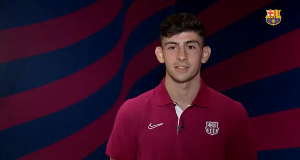 Koeman confía en la calidad de su joven jugador. Captura/FCBarcelona
