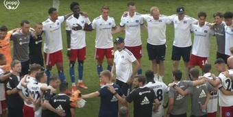 Los alemanes estrenaron su nueva equipación el 17 de julio. YouTube/HSV