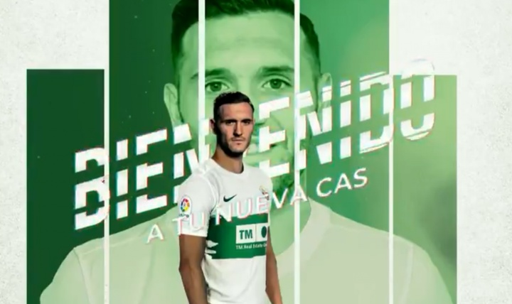 Lucas Pérez, nuevo delantero del club ilicitano. ElcheCF