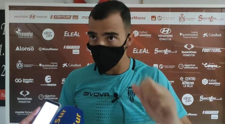De las Cuevas suma cuatro goles en dos partidos con el Córdoba. YouTube/CórdobaClubdeFútbol