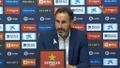 Vicente Moreno destacó la solidaridad; Cervera apostó por seguir trabajando. YouTube/LaLiga