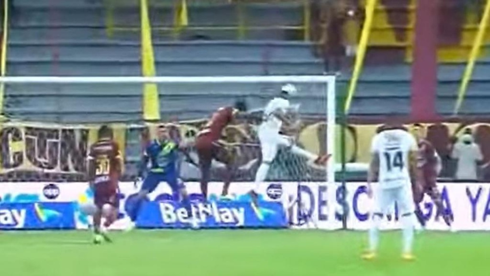 Un asalto al feudo del campeón como sorpresón en Colombia. Captura/WinSports