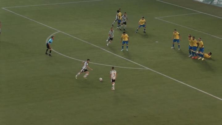 El Córdoba derrotó al Cádiz B. Captura/Footters