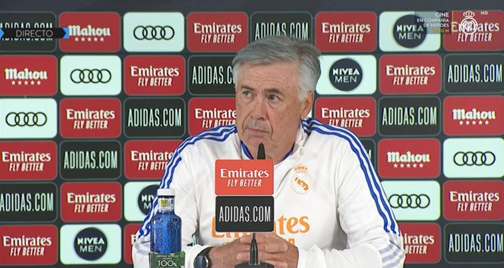 Ancelotti commenta le voci su Mbappé. RealMadridTV
