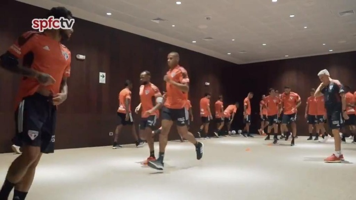 Federação Peruana pede desculpas ao São Paulo por treino vetado. Twitter/SaoPauloFC