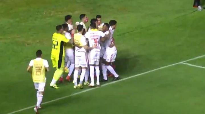 Internacional venció 0-1 a Sport Recife. Captura/SporTV