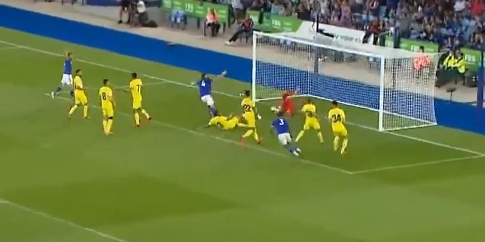 El Leicester logró la victoria ante el Villarreal por 3-2. Captura/Vamos