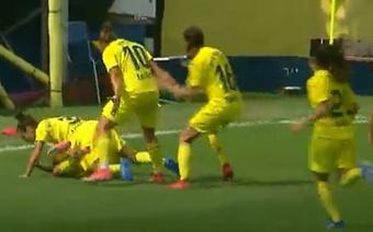 El Villarreal venció por la mínima al Eibar. Youtube/VillarrealCF