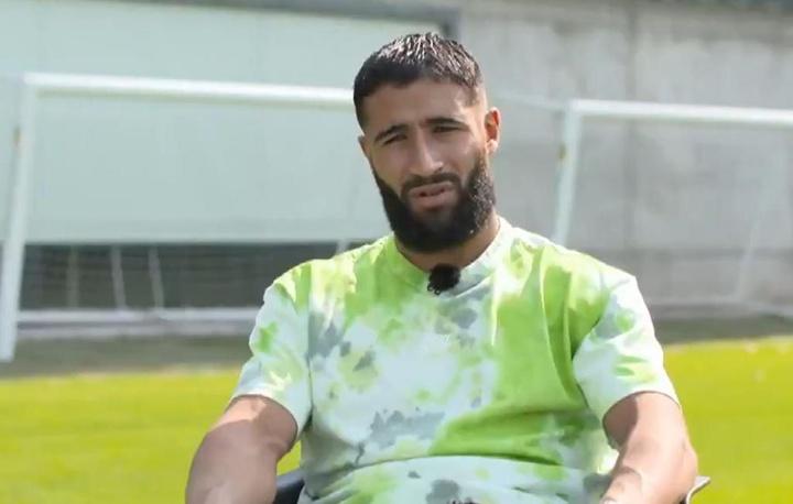 Fekir habló de su etapa en el Betis. Captura/Vamos
