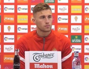 Bogdan analizó el choque ante el Alcorcón. Twitter/RealSporting