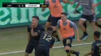 Los Angeles FC y LA Galaxy empataron a tres. Twitter/MLS