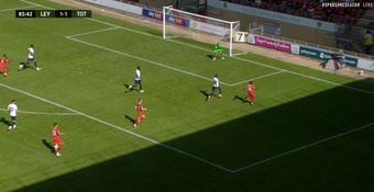Tottenham were held to a 1-1 draw in their first friendly. Screenshot/TottenhamHotspur