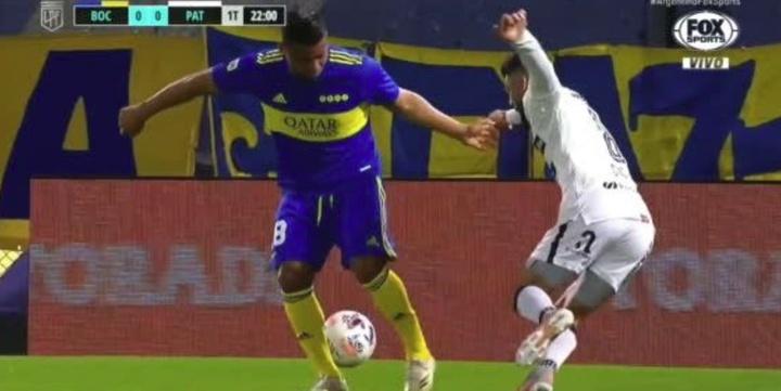 Boca Juniors venció 1-0 a Patronato. Captura/FOX