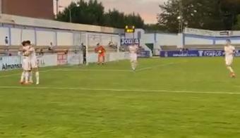 El Albacete goleó al humilde Almansa. Twitter/AlbaceteBPSAD
