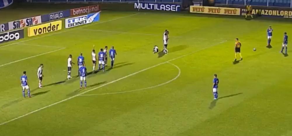 Vasco de Gama perdió 3-1 ante Avaí. Captura/SporTV