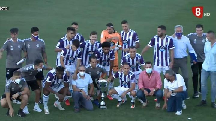 El Valladolid ganó en penaltis al Amorebieta. YouTube/RealValladolidCF