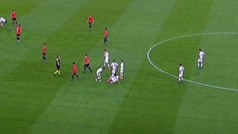 Godoy Cruz goleó a Aldosivi 1-4. Captura/TNTSports