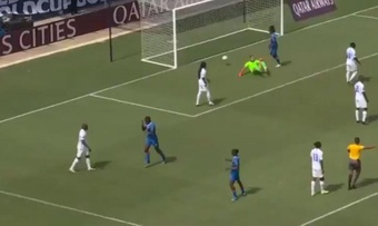 Haití venció 1-2 a Martinica. Twitter/GoldCup