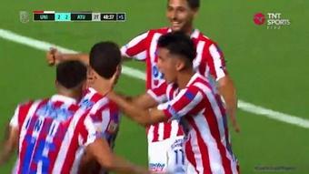 Estreno inmejorable para Banfield y Colón en la Copa de la Liga. Captura/TNTSports
