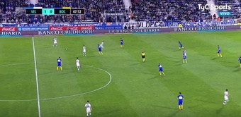 Vélez Sarsfield superó a Boca Juniors por 2-0. Captura/TyCSports