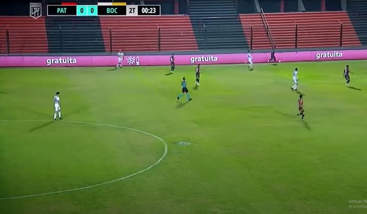Patronato logró una importante victoria ante Boca Juniors. Captura/TNTSports