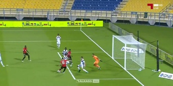 James Rodríguez marcó su primer gol con el Al Rayyan. Captura/ONEHD