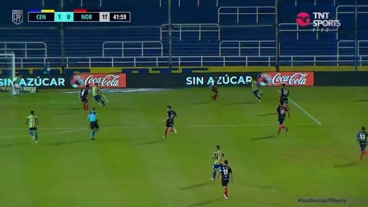 Rosario golea en 'su' clásico; Racing pierde el tren del 'play off'. Captura/TNTSports